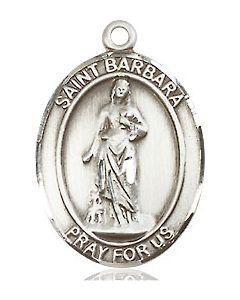 "St. Barbara SS/ 18"" chain"
