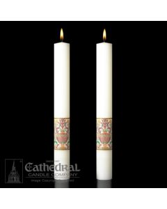 Complementing Altar Candles Investiture