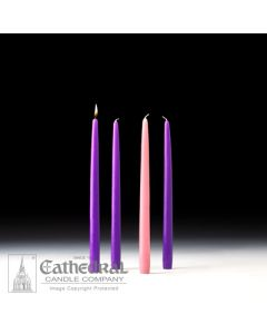 Advent candles 12""