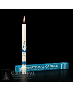 Alpha Omega - Baptismal Candle