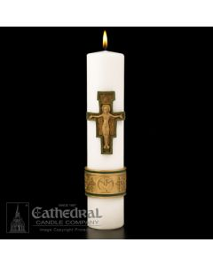Cross of St Francis Candle