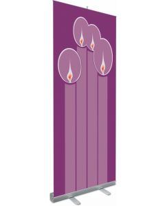 Advent Roll-up Banner