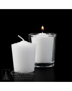 15 hour Votive Lights - Tapered