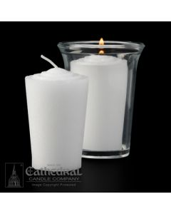 24 hour Votive Lights - Tapered