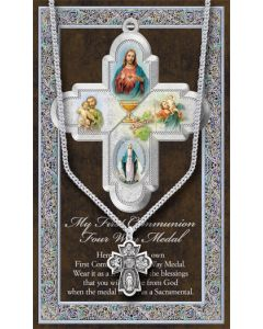 Four Way Communion Medal