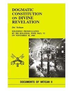 Dogmatic Constitution on Divine Revelation - Dei Verbum