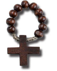 Dark Wood One Decade Rosary