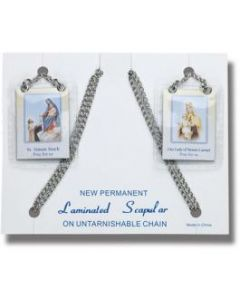 Scapular on Stainless Steel Chain