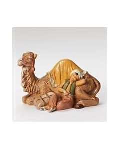 "Cyrus, Boy with Camel, 5"" Fontanini"