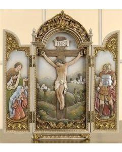 "12"" Crucifixion Tryptych"