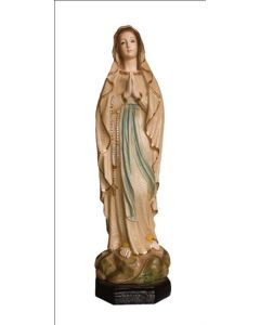 """Our Lady of Lourdes Statue, 19"""""""