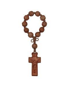 Jujube Wood One Decade Rosary