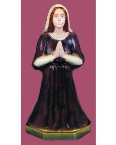 St. Bernadette Vinyl Statue