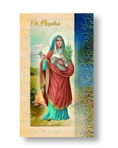 St. Agatha Mini Biography
