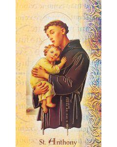 St. Anthony Mini Biography