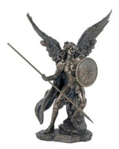 Archangel Raphael, Cold-Cast Bronze