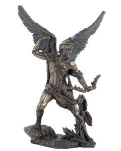 Archangel Uriel, Cold-Cast Bronze