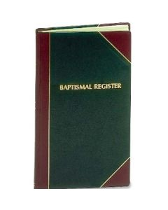 Baptismal Register XLG