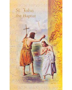 St. John the Baptist Mini Biography
