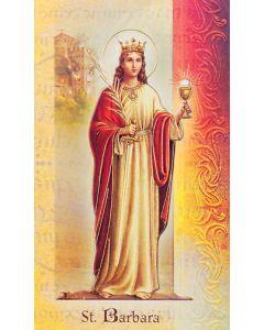 St. Barbara Mini Biography