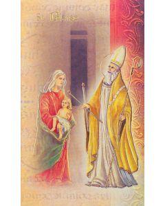 St. Blaise Mini Biography
