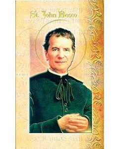 St. John Bosco Mini Biography