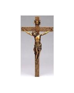 Gold Antique Crucifix