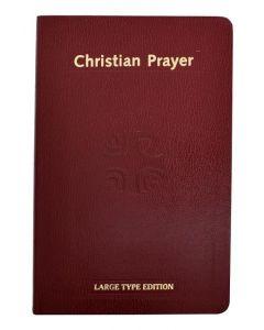 Christian Prayer (Large Type)