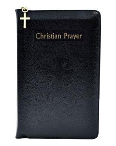 Christian Prayer (Black Leather-Zipper Binding)