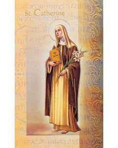 St. Catherine of Siena Mini Biography