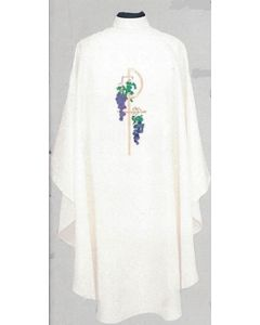 Chasuble Chi-Rho/Grapes