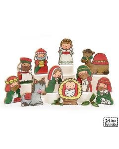 Children Nativity Large