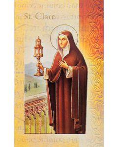 St. Clare Mini Biography