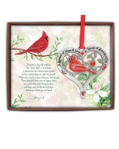 Cardinal Memorial Ornament