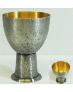 Silver Oxidized Common Cup