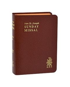 St. Joseph Sunday Missal - Brown