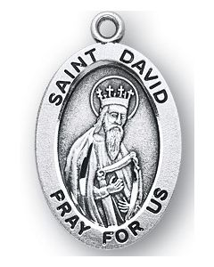 St. David SS medal oval