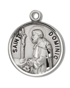St. Dominic SS medal round