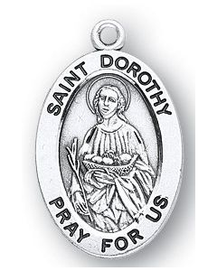 St. Dorothy SS oval medal