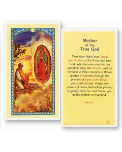 MOTHER OF TRUE GOD HOLY CARD