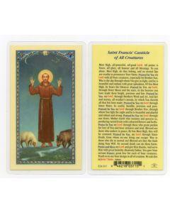 St. Francis Holy Card