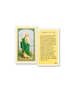 St.Jude Holy Card