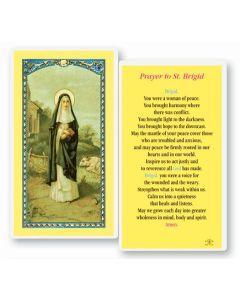 St. Brigid Holy Card