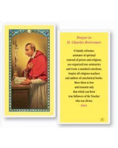 St. Charles Holy Card