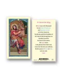 St. David Holy Card
