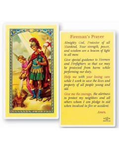 St. Florian Holy Card