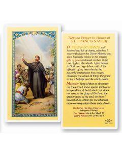 St. Francis Xavier Holy Card
