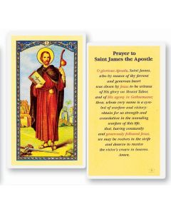 St. James Holy Card