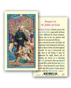 St. John of God Holy Card