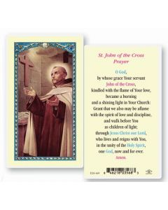 St. John of the Cross Holy Card